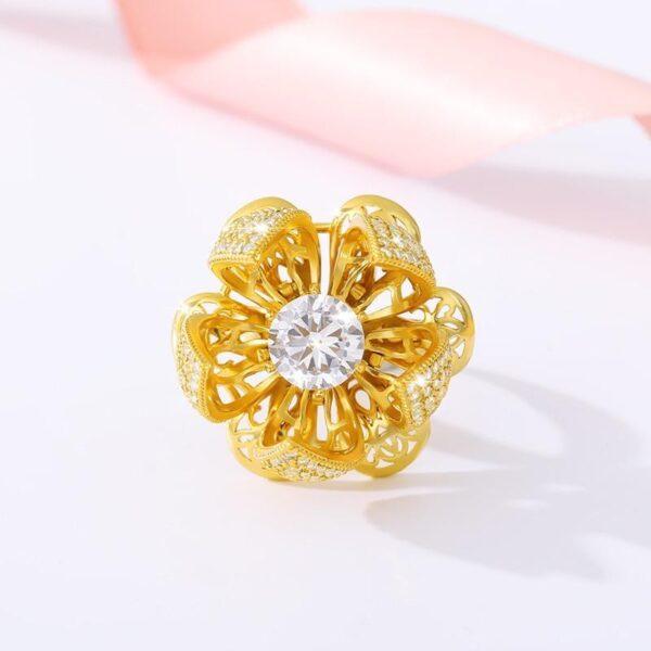 Blooming Flower Ring - Avanti-eStore