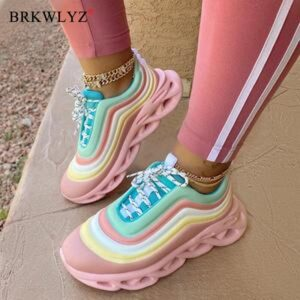 Girls Rainbow Shoes