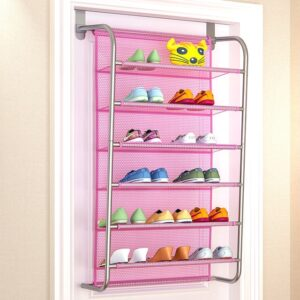 Over The Door Rack: Perfect to Keep Many Kinds of Stuff Organized Behind The Door!