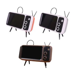 Retro Bluetooth Speaker: It Converts Your Mobile Phone Magically into a Retro TV!