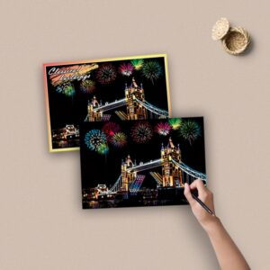 Enchand Scratch Painting Kit