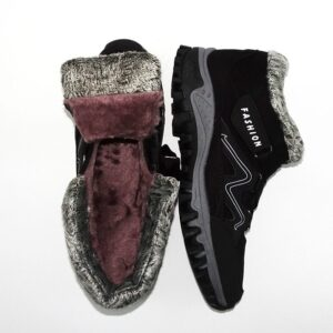 Fur Lined Winter Snow Boots