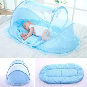 Baby Portable Foldable Crib with Mosquito Netting