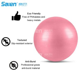 Exercise Ball l Yoga Ball l Balance Ball for Fitness, Stability, Balance and Yoga