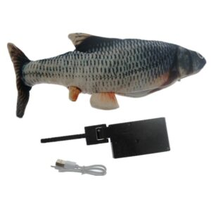 Best Fish Cat Toy: It Looks and Acts like a Real Fish Your Cat Will Love!