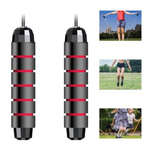 Jumping Rope Tangle-Free with Ball Bearings