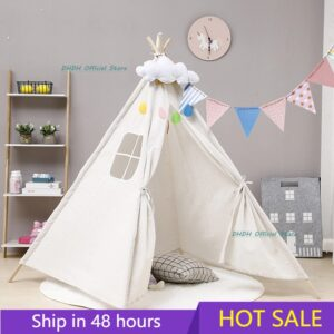 Kids Teepee Tent: It's a Perfect Playhouse for Your Kids at Home!