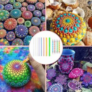 Mandala Dotting Tools Set For Painting Rocks