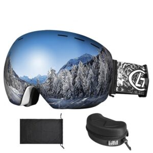 Ski Goggles with The Ultimate UV400 Eyes Protection