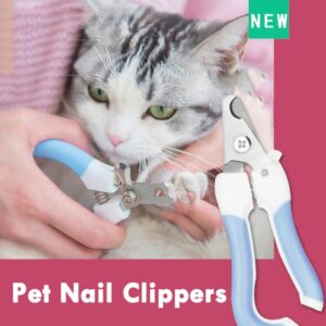Best Cat Nail Clippers: It Avoids Overcutting of Your Cat's Nails