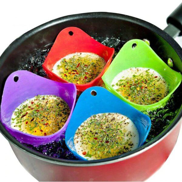 Silicone Egg Boiler Cups - Avanti-eStore