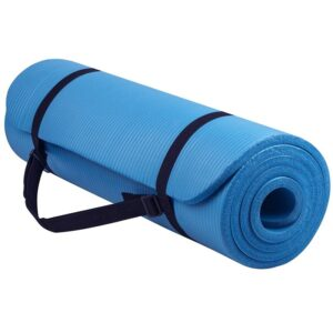 Foldable Extra Thick Yoga Mat with Carrying Strap