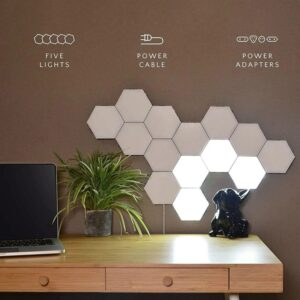 Magnetic Hexagonal LED Lights
