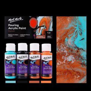 Magical Acrylic Pour Painting Set Lets You Create Amazing Art!