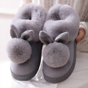 Women Bunny Slippers: Perfect for Kitchen Use & Great for Your Tired Feet!