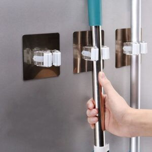 Broom Holder: Perfect Space-Saving Way to Keep House Cleaning Tools!