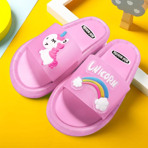 Smoko Unicorn Light Up Slippers - Avanti-eStore