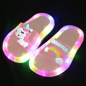 Light Up Slippers: Kids will Love Its Flashing Smoko Unicorn!