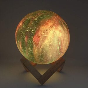 3D Moon Lamp: A Perfect Replica of the Rugged Surface of the Moon!